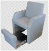 Πολυθρόνα πεντικιούρ με κρυφη θήκη για λεκανάκι